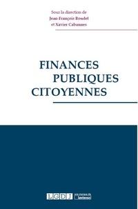 Jean-François Boudet et Xavier Cabannes - Finances publiques citoyennes.