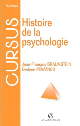 Histoire De La Psychologie De Jean Francois Braunstein Livre Decitre