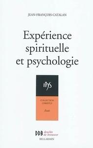 Jean-François Catalan - Expérience Spirituelle et Psychologie (Ned).