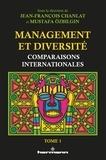 Jean-François Chanlat et Mustafa Ozbilgin - Management et diversité - Comparaisons internationales. Tome 1.
