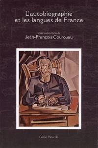 Jean-François Courouau - L'autobiographie et les langues de France.