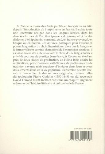 Moun lengatge bèl. Les choix linguistiques minoritaires en France (1490-1660)
