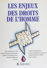 Jean-François de Raymond - Les Enjeux des droits de l'homme.