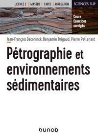 Ibooks pour pc téléchargement gratuit Pétrographie et environnements sédimentaires  - Cours et exercices corrigés en francais