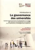 Jean-François Denef et Bonaventure Mvé-Ondo - Introduction à la gouvernance des universités - Guide de gouvernance et d'évaluation à l'usage des recteurs et présidents d'universités ou d'institutions d'enseignement supérieur.