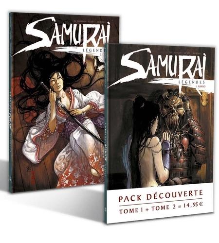 Jean-François Di Giorgio et Frédéric Genêt - Samurai Légendes  : Pack découverte en 2 volumes : Tome 1, Furiko ; Tome 2, L'échange.