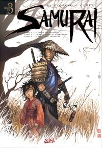 Jean-François Di Giorgio et Frédéric Genêt - Samurai  : Tome 1, Le coeur du prophète ; Tome 2, Les sept sources d'Akanobu ; Tome 3, Le treizième prophète.