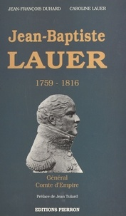 Jean-François Duhard et Véronique Lauer - .