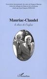 Jean-François Durand - mauriac-claudel : le desir et l'infini.