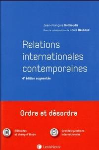 Jean-François Guilhaudis - Relations internationales contemporaines.