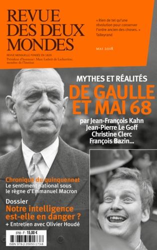 Revue des deux Mondes Mai 2018 Quel héritage possible pour mai 68 ?