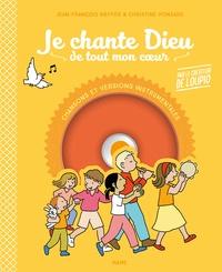 Jean-François Kieffer et Christine Ponsard - Je chante Dieu de tout mon coeur. 1 CD audio