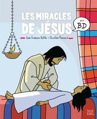 Jean-François Kieffer et Christine Ponsard - Les miracles de Jésus en BD.