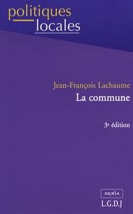 Jean-François Lachaume - La commune.