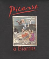 Jean-François Larralde et Jean Casenave - Picasso à Biarritz - Eté 1918.