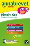 Annales du brevet Annabrevet 2019 Histoire Géographie EMC 3e - 65 sujets corrigés.