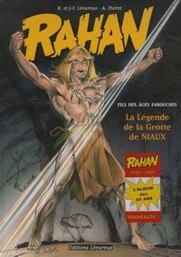 Jean-François Lécureux et Roger Lécureux - Rahan Tome 10 : La légende de la grotte de Niaux.