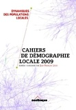 Jean-François Léger - Cahiers de Démographie Locale 2009.