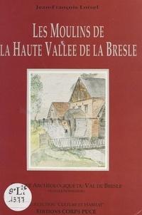 Jean-François Loisel et  Groupe archéologique du Val de - Les moulins de la haute Vallée de la Bresle.