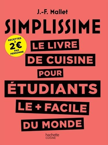 Le Livre De Cuisine Pour Etudiants Le Plus Facile Du Monde Grand Format