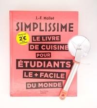 Jean-François Mallet - Le livre de cuisine pour étudiants le plus facile du monde - Avec une roulette à pizza en cadeau.