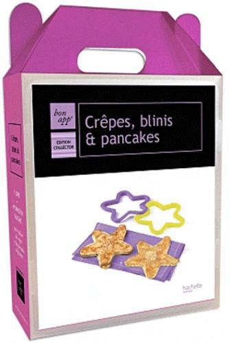 Jean-François Moruzzi - Crêpes, blinis et pancakes - Edition collector, 1 livre + 4 formes en silicone.