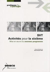 Jean-François Paba - SVT Activités pour la sixième - Mise en oeuvre du nouveau programme.
