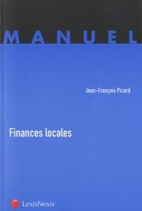 Jean-François Picard - Finances locales.