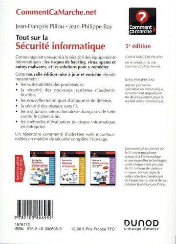 Tout sur la sécurité informatique 5e édition