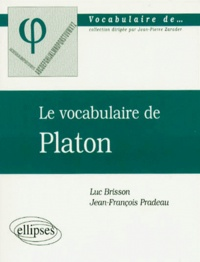 Le vocabulaire de Platon.pdf