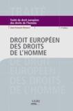 Jean-François Renucci - Droit européen des droits de l'Homme.