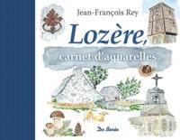 Jean-François Rey - Lozère - Carnet d'aquarelles.