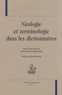 Jean-François Sablayrolles - Néologie et terminologie dans les dictionnaires.