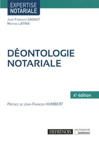 Déontologie notariale - Jean-François Sagaut pdf epub