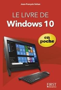 Jean-François Sehan - Le livre de Windows 10 en poche.