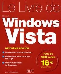 Le livre de Windows Vista - Jean-François Sehan |
