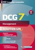 Jean-François Soutenain et Philippe Farcet - DCG 7 Management Manuel et applications 5e édition.