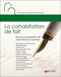 Jean-François Taymans - La cohabitation de fait.