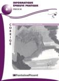 Jean-François Thouvenin et Louis Déroche - Informatique épreuve pratique étude de cas Terminale STT comptabilité gestion. - Corrigé, avec CD-ROM.