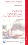 Jean Frayssinet - Journées prud'homales d'Aix-en-Provence - Année 2005.
