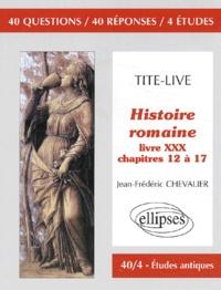 Histoiresdenlire.be Histoire romaine, Tite-Live. Livre 30, Chapitres 12 à 17 Image