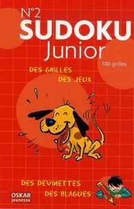 Jean-Gabriel Jauze - Sudoku Junior N° 2 - Des grilles de jeu, des devinettes et des blagues !.