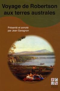 Jean Garagnon - Voyage de Robertson aux terres australes.