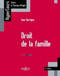 Jean Garrigue - Droit de la famille.