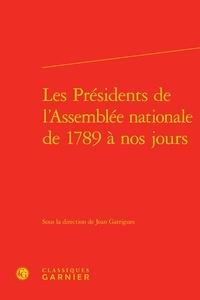 Histoiresdenlire.be Les Présidents de l'Assemblée nationale de 1789 à nos jours Image