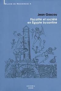 Histoiresdenlire.be Fiscalité et société en Egypte byzantine Image