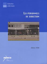 Jean Geoffroy - Les personnels de direction.