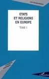 Jean-Georges Boeglin - Etats en religions en Europe. - 1.