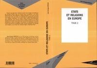 Jean-Georges Boeglin - Etats et religions en Europe. - 2.