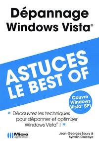 Jean-Georges Saury et Sylvain Caicoya - Dépannage Windows Vista.